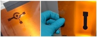 Archer graphene inks used to print circuits image