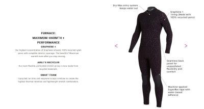 Billabong graphene-infused wetsuit image