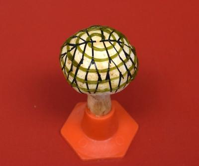 Bionic mushroom generates electricity image