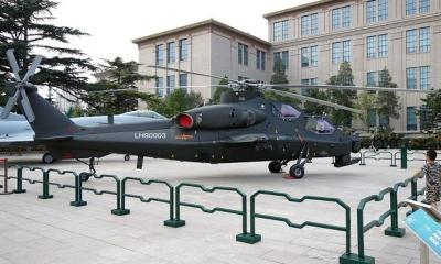 Rumors suggest that China's Z-10 assault helicopters get graphene armors image
