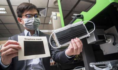 CityU's graphene masks image