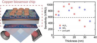 Copper-GO biosensor chips image