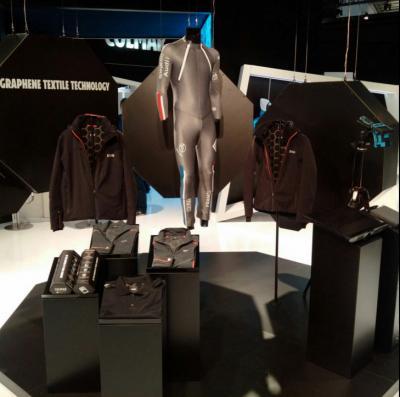 Directa Plus and Colmar present graphene sportswear line image