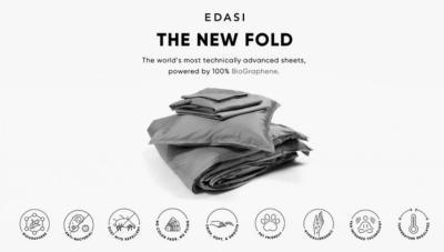EDASI BioGraphene Bedding Sheets photo