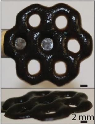 Graphene oxide and alginate combine to create new 'smart' material with potential biomedical, environmental uses image