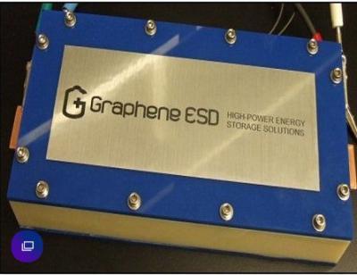 Graphene ESD supercapacitor prototype image
