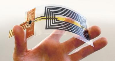 Graphene-based NFC antenna by the Flagship image