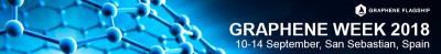 Graphene Week 2018 banner