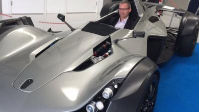 Graphene-enhanced car unveiled image
