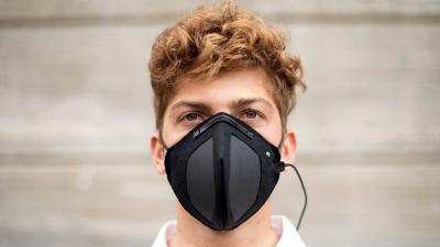 Graphene could help make face masks that repel bacteria image