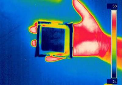 Graphene thermal camouflage system image