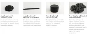 Graphamatech graphene products (September 2018)