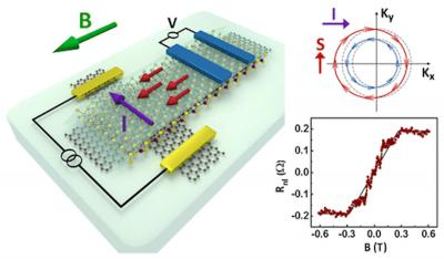 Scientists create fully electronic 2-dimensional spin transistors image