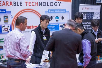 IDTechEx graphene & 2D Materials exhibition photo