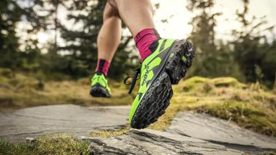 inov-8's new Trailfly Ultra G 300 Max shoe image
