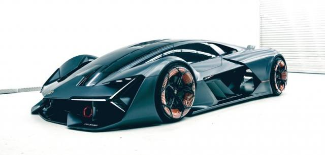 MIT and Lamborghini develop graphene-enhanced supercar image