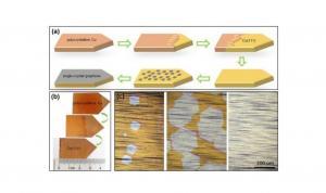 New method grown large graphene sheets image