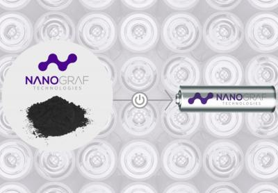 Nanograf's battery technology image