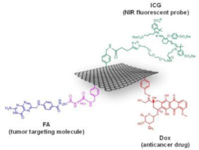 Multi-functionalization of graphene for molecular targeted cancer therapy image