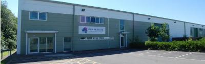Perpetuus production plant, Swansea, Wales, UK