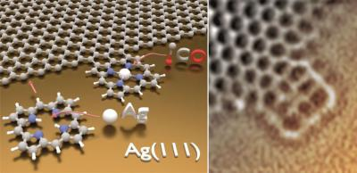 Porphyrins and graphene join to make a new material image