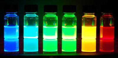 Quantum Dots - fluorescent image