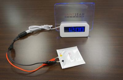 Saint Jean Carbon's graphene battery demo image