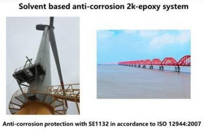 Anti-corrosion 2k-graphene-epoxy coating in China (TSE)