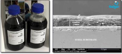 Talga joins Chemetal in developing graphene coating image