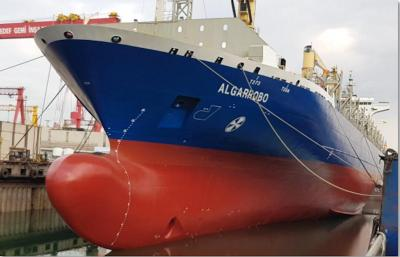 Talga starts trial of graphene coating on cargo ship image