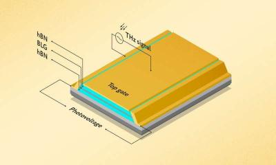 Researchers design novel graphene-based terahertz detector image