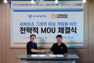 Two Korean firms team up to develop graphene-based archery arrow image