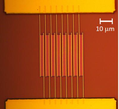 UCLA's novel graphene-based photodetector image