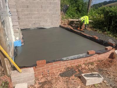 Versarien uses graphene-enhanced concrete in a residential setting image