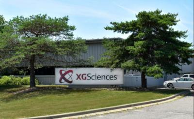 XG Sciences production site, Lansing MI