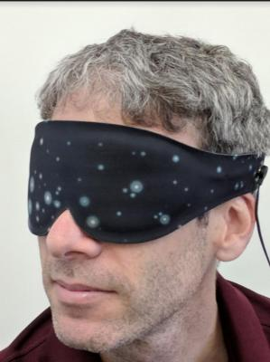 Eye mask in action image
