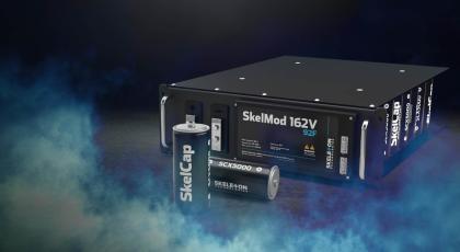 Skeleton graphene supercapacitors SkelMod 162V photo