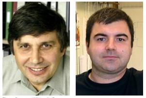 Andre Geim and Konstantin Novoselov photo