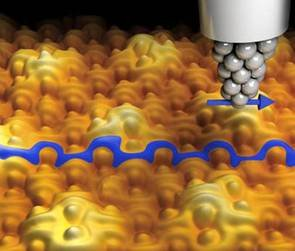 TCNQ on graphene goes magnetic image