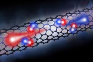 Graphene based nanotube used as a photodiode (photo)
