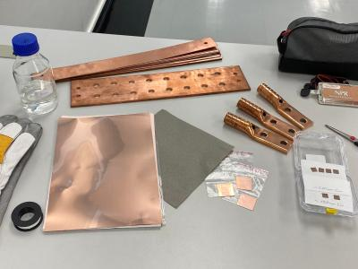 planarTECH graphene-coated copper components photo