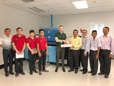 planarTECH graphene system at Thailand Science Park