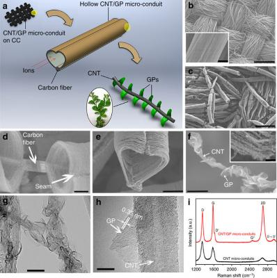 An efficient and long-lasting graphene-based electrode for supercapacitors image