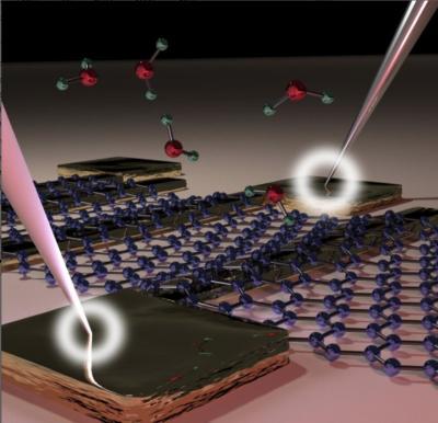 Waterproof graphene electronic circuits image