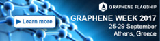 Graphene Week 2017: Submit your Abstract NOW!